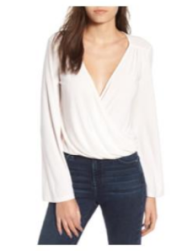 leith easy wrap top